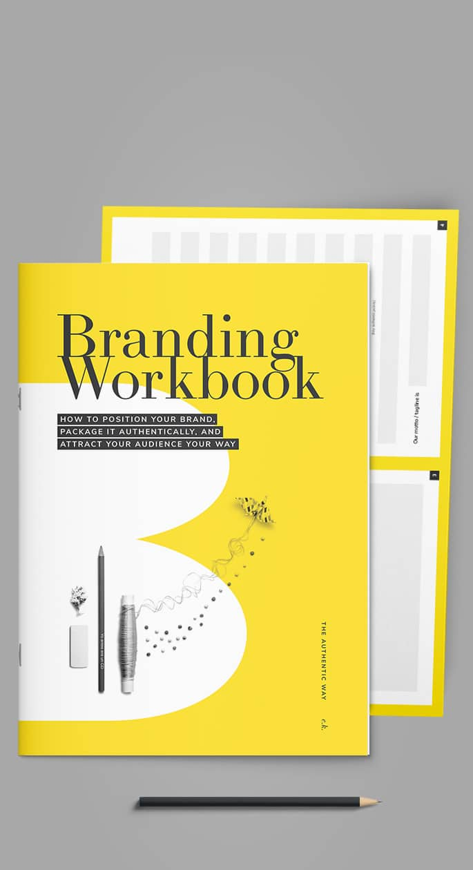 branding workbook brand canvas