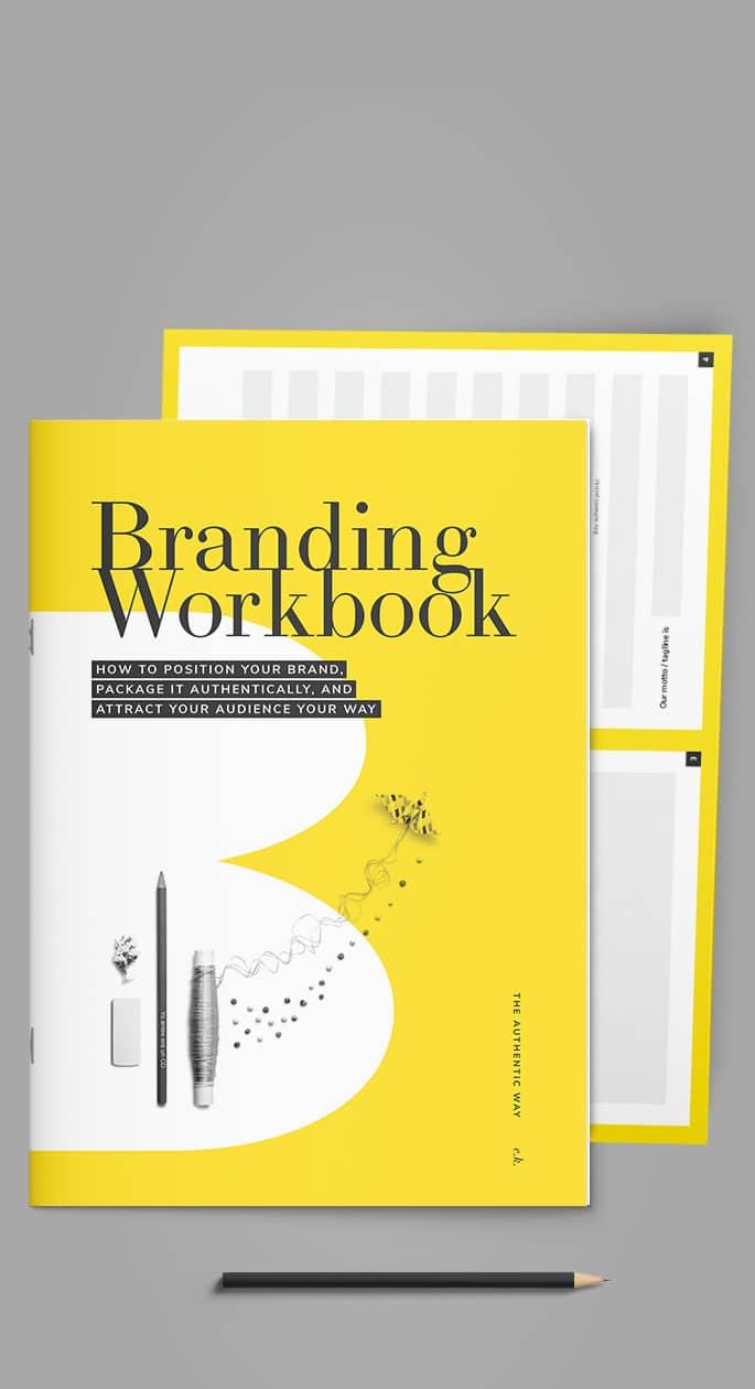 branding workbook brand canvas