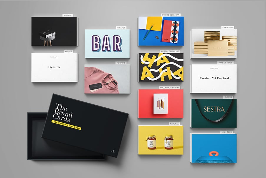 The Brand cards