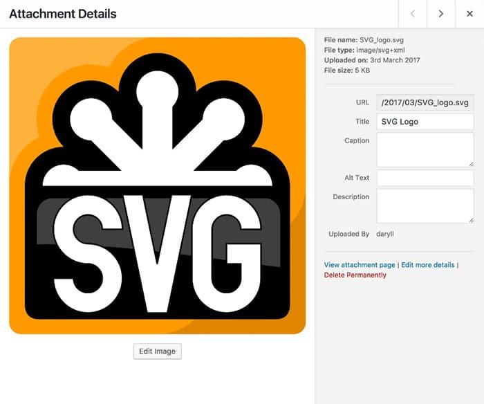 Safe SVG screenshot